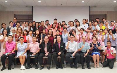วันที่ 9 มิถุนายน 2563 ประชุมทีมคณะกรรมการบริหารและบุคลากรของศูนย์บริการการแพทย์นนทบุรี