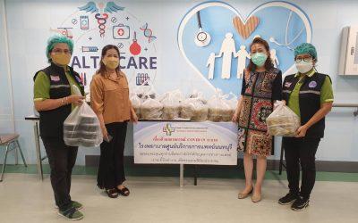 วันที่ 29 กันยายน 2564 พระอาจารย์อ๊อด (วัดหูช้าง) บริจาคข้าว+แกงจืด จำนวน 100 ชุด ให้กับบุคลากรทางการแพทย์ และเจ้าหน้าที่โรงพยาบาลศูนย์บริการการแพทย์นนทบุรี